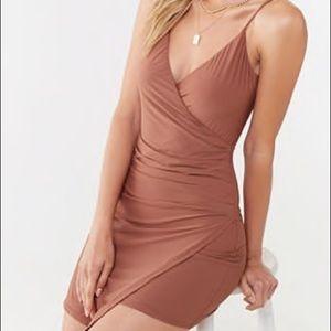 Light Brown Cami Bodycon Dress